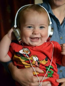 Child and Music